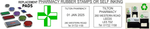 Chemist and Pharmacy Stamps