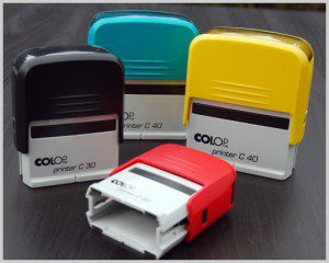 Colop Printerline Self Inking Stamps