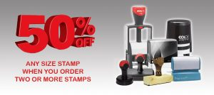Rubber Stamps and Printing in Birmingham City Centre